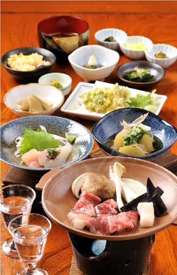 四季の宿まさき 旬の料理の写真